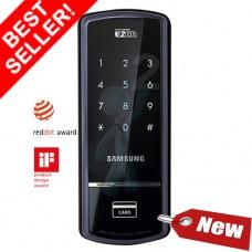 Digital door lock กลอนประตูดิจิตอล - Samsung SHS-1321 (Sub-lock รหัส+บัตร)