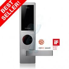 Digital door lock กลอนประตูดิจิตอล - Samsung SHS-6020/H635 (Main-lock รหัส+บัตร+กุญแจ)