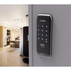 Digital door lock กลอนประตูดิจิตอล - Clavis CR-1050K (Rim-lock รหัส+Blue Tooth+eKey) รองรับ air BNB