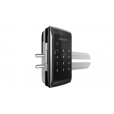 Digital door lock กลอนประตูดิจิตอล - Milre MI-250S (Glass-lock กระจกบานเปลือย รหัส+บัตร)