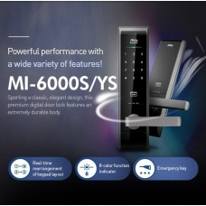 Digital door lock กลอนประตูดิจิตอล - Milre MI-6000YS (Main-lock รหัส+บัตร+กุญแจ)