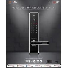 Digital door lock กลอนประตูดิจิตอล - Milre ML-6100 (Main-lock รหัส+บัตร+กุญแจ)
