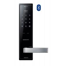 Digital door lock กลอนประตูดิจิตอล - Samsung SHP-DH525 (Main-lock รหัส+บัตร+กุญแจ) Bluetooth