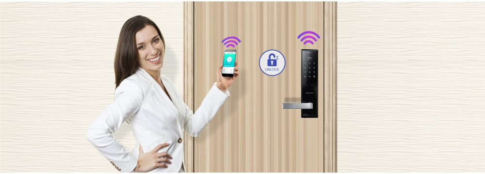 Digital door lock Samsung Product line