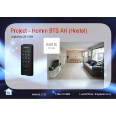 Digital door lock กลอนประตูดิจิตอล - Project: Homm Ari (BTS Ari)