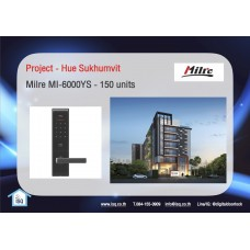 Digital door lock กลอนประตูดิจิตอล - Project: Hue Sukhumvit (MI6000YS, 150 units)