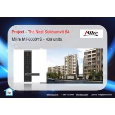 Digital door lock กลอนประตูดิจิตอล - Project: The Nest Sukhumvit 64 (MI6000YS, 439 units)
