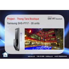 Digital door lock กลอนประตูดิจิตอล - Project: Thong Tara (SHS-P717, 20 units)