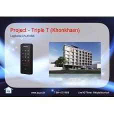 Digital door lock กลอนประตูดิจิตอล - Project: Triple T (Khonkhaen)