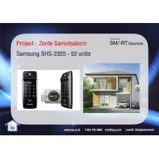 Digital door lock กลอนประตูดิจิตอล - Project: Zente (SHS-2320, 52 units)