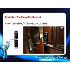 Digital door lock กลอนประตูดิจิตอล - Project: The Pano Rama3 (YDM-4109, YDM-4111 , All Penthouse)