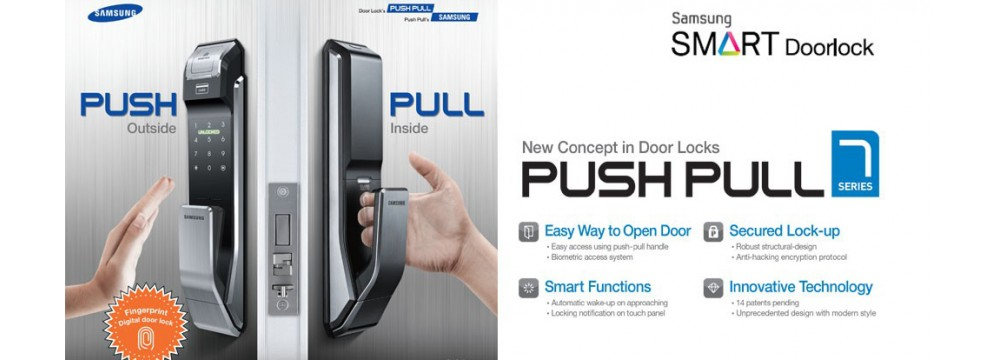Digital door lock Samsung SHS-P718
