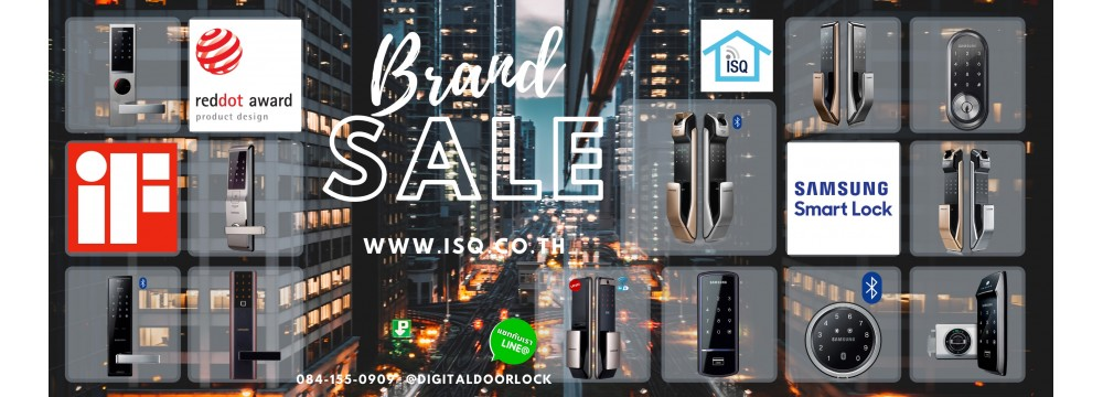 Digital door lock Samsung Smart Lock Sale