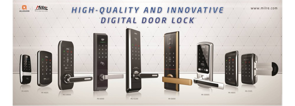 Digital door lock Milre Product line