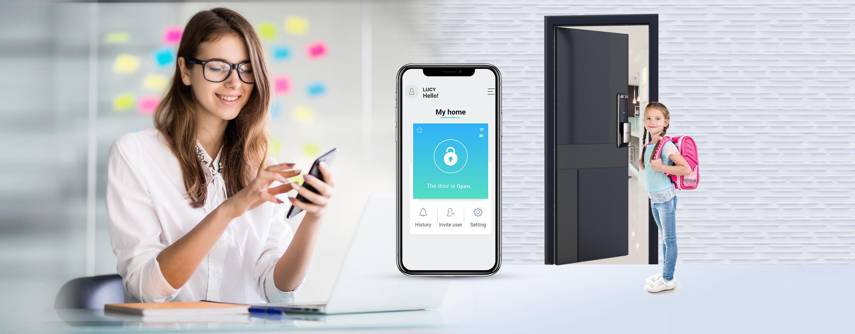 กลอนประตู ล็อคดิจิตอล ซัมซุง Samsung SHP-DP609 WiFi smart IoT