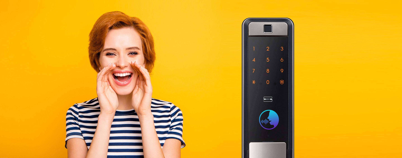 กลอนประตู ล็อคระบบดิจิตอล Samsung ซัมซุง SHP-DP609 Wifi