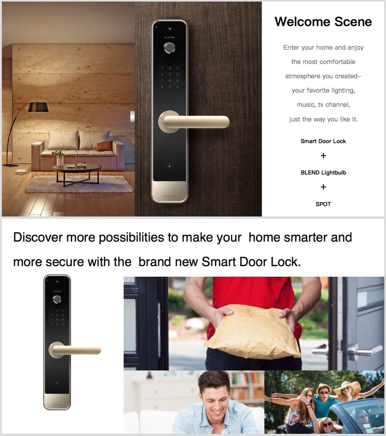 digital door lock กลอนประตูดิจิตอล เปิดได้ด้วยแอพ ไม่ว่าจะอยู่ที่ไหนของโลก